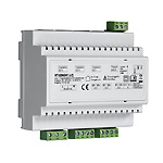 VT100 Video-Türsprechanlage von Indexa GmbH Hutschienen Netzteil Verteiler