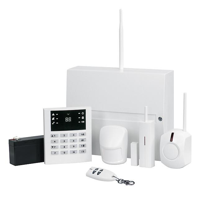 Funk-Alarmanlagen: Indexa Funkalarmanlage System 6000 GSM ...